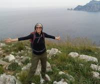 Satva is a guide on our Rome and the Amalfi Coast on Foot guided walking holiday