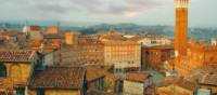 Siena Skyline, Italy