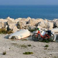 The endless coastline between Venice and Porec