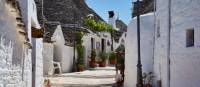 Trulli in the UNESCO town of Alberobello | Lesley Treloar