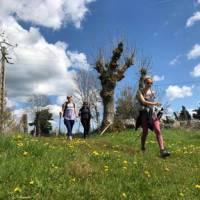 Walking in the glorious Italian weather on the Via Francigena | Allie Peden