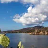 A Spanish Tower on Sardinia's South Coast