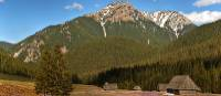 Stunning view of the Tatra mountain range in Poland
