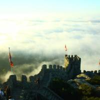 High above the clouds on the Castelo dos Mouros in Sintra   Linda Murden