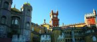 The beautiful 19th century Pena Palace in Sintra | Linda Murden