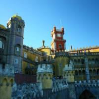 The beautiful 19th century Pena Palace in Sintra   Linda Murden