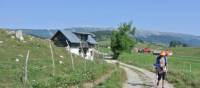 Walking out of Coican, Romania | Lilly Donkers
