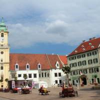 Visit Old Town, the historic center and one of the boroughs of Bratislava