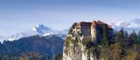 Bled Castle and Triglav in the background | Klemen Kunaver