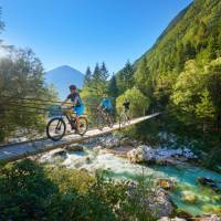 Cycling in the beautiful Soca Valley | Tomo Jesenicnik