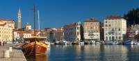 Visit Piran's harbour when cycling the Parenzana | Matevž Lenarcic