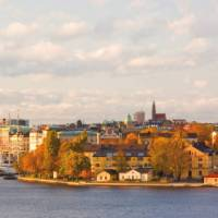 The picturesque city of Stockholm, Sweden