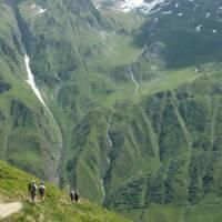 Green valley near Ferret, Switzerland | Roz Davis