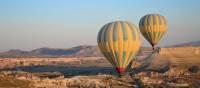 Balloons taking off in Cappadocia | Erin Williams