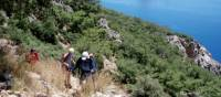 Coastal walk in the Cirali region of Turkey