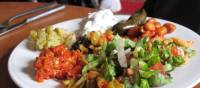 Delicious lunches sustain you during the walk | Kate Baker