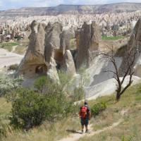 Walker in Cappadocia | Erin Williams