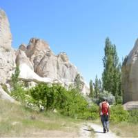 Walking through a valley in Cappadocia | Erin Williams