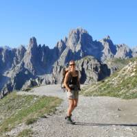 Trekking in the Dolomites is one of the great walking experiences of Europe   Jaclyn Lofts