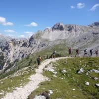 Trekking in the Dolomites   Jaclyn Lofts