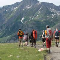 Mont Blanc Circuit Family Walk | Kate Baker
