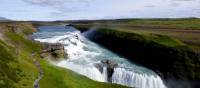 """Gullfoss (translated as """"Golden Falls"""") is Iceland's most popular waterfall"""