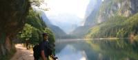 Beautiful mountainous landscapes of Gosausee, Austria