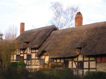 Anne Hathaway's Cottage near Stratford Upon Avon