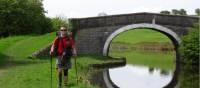 walking along the Leeds and Liverpool Canal   John Millen