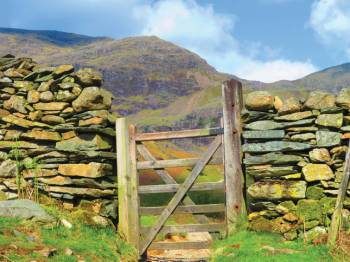 Gate into the Coppermines Valley&#160;-&#160;<i>Photo:&#160;John Millen</i>