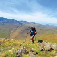 Walking towards the Langdale Pikes | John Millen