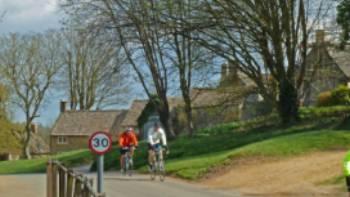 Cycling into Guiting Power | John Millen