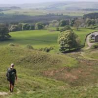 Descending by Hadrians Wall   John Millen