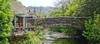 Grasmere Bridge provides a picturesque rest stop on the Coast to Coast Trail | John Millen