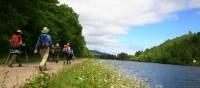 Hiking along the Great Glen Way