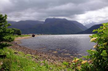 Ben Nevis across Loch Linnie