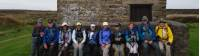 Coast to Coast Trail group resting at Shooting Hut |  <i>John Millen</i>