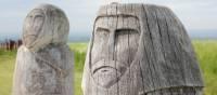 Guardians at Enclosure Rites artwork | North York Moors National Park