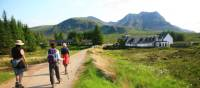 Coming across one of the small villages along the West Highland Way | John Millen