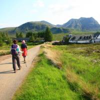 Coming across one of the small villages along the West Highland Way   John Millen