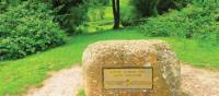 Starting stone of The Offa's Dyke Path | John Millen