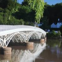John Rennie's - Old Town bridge, Chepstow | John Millen