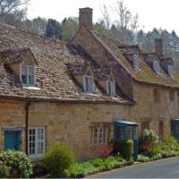 Ye olde English architecture in the Cotswolds   John Millen