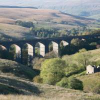 One of the most famous viaducts in Britain, Ribblehead Viaduct
