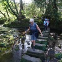 Crossing the river on the way to Egton Bridge   Jon Millen