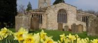 Historic Grinton Church, Yorkshire Dales