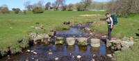 Stepping stones across the Ure