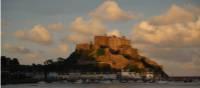 Chateau Le Mont Orgueil and Gorey Harbour | John Millen