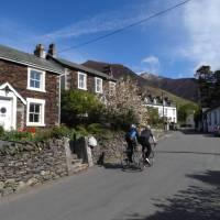 Cyclists  through Threlkeld | John Millen