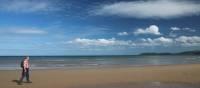 Walking the beach to Ramsey | John Millen